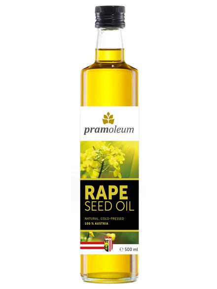austrian rapeseed oil 500ml pramoleum healthysupplies. Black Bedroom Furniture Sets. Home Design Ideas