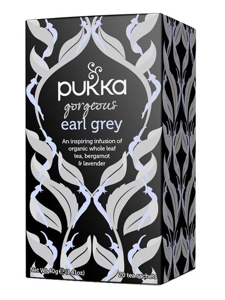 Gorgeous Earl Grey Tea Organic 20 X Sachets Pukka