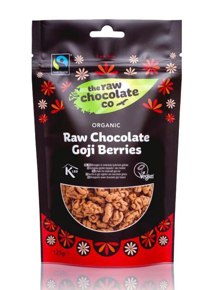 Raw Chocolate Covered Goji Berries 125g Raw Chocolate Co
