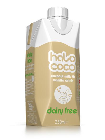 Coconut Milk Amp Vanilla Drink 330ml Halo Coco