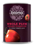 Whole Peeled Plum Tomatoes 400g, Organic (Biona)