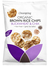 Brown Rice Chips with Buckwheat & Chia, Organic 60g (Clearspring)