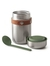 Food Flask Olive 400ml (Black and Blum)