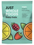 Frooty Fruits Vegan Jellies, Organic 100g (Just Wholefoods)