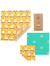 Beeswax Wraps - Medium Kitchen Pack (The Beeswax Wrap Company)