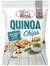 Quinoa Sour Cream & Chive Chips 80g (Eat Real)