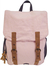 Ramie Leaf and Jute Backpack Pink (Onyx and Green)