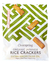 Rice Crackers with Olive Oil & Sea Salt, Organic 50g (Clearspring)