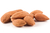 Roasted Almonds, Unblanched 1kg (Sussex Wholefoods)