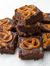 Vegan Chocolate Fudge with Salty Pretzels