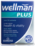 Wellman Plus Omega 3-6-9, 28 Tablets + 28 Capsules (Vitabiotics)