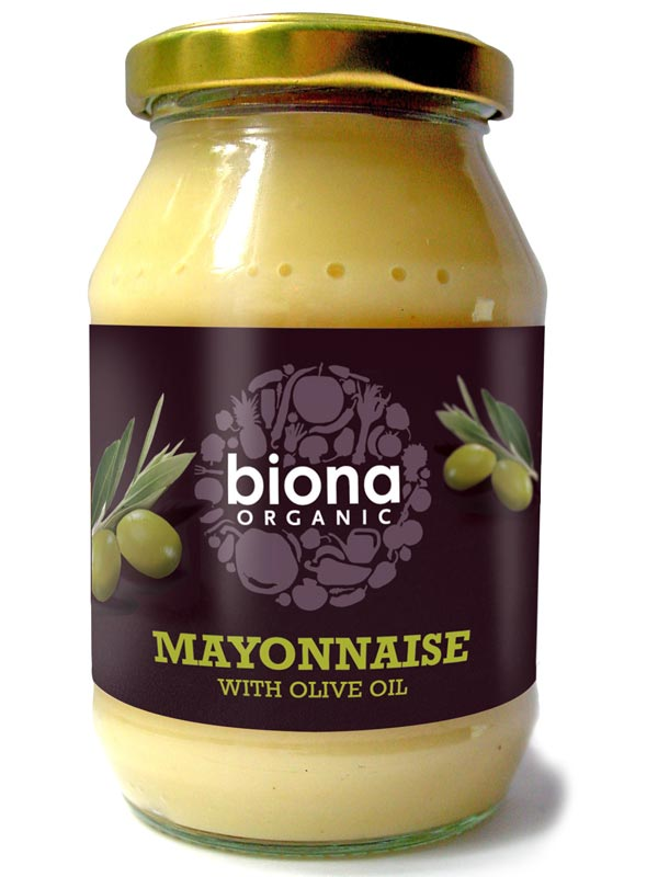 Mayonnaise with Olive Oil, Organic 230g (Biona) - HealthySupplies.co ...