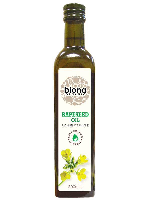 rapeseed oil organic 500ml biona. Black Bedroom Furniture Sets. Home Design Ideas