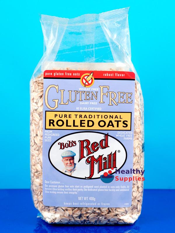 Rolled Oats, Gluten Free 400g (Bob's Red Mill ...