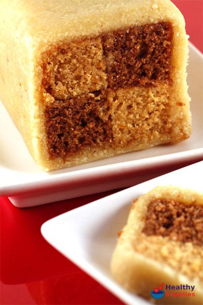 Chocolate Orange Battenburg Cake Recipe