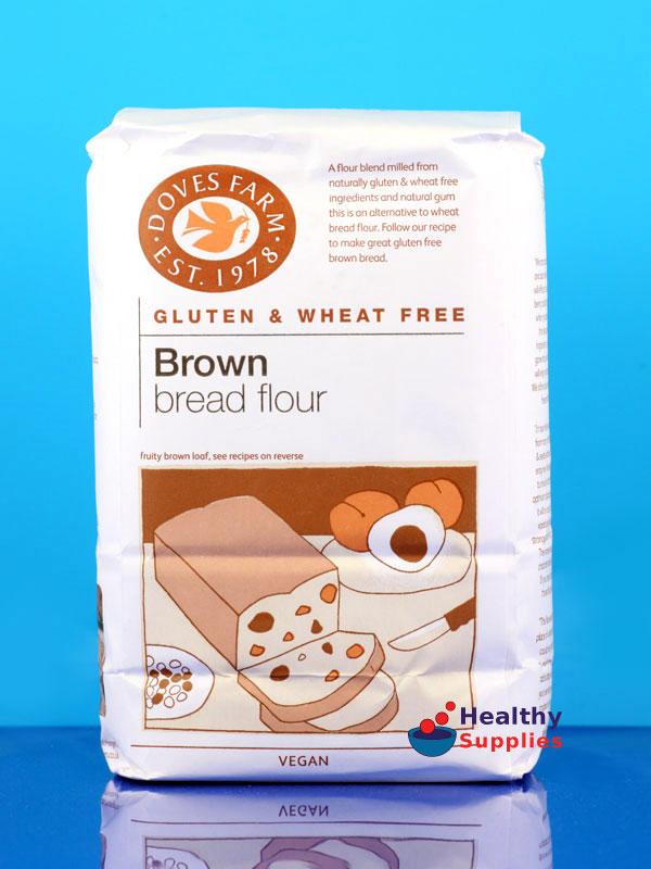 Dove S Farm Gluten Free Brown Bread Flour 1kg Healthysupplies Co Uk Buy Online