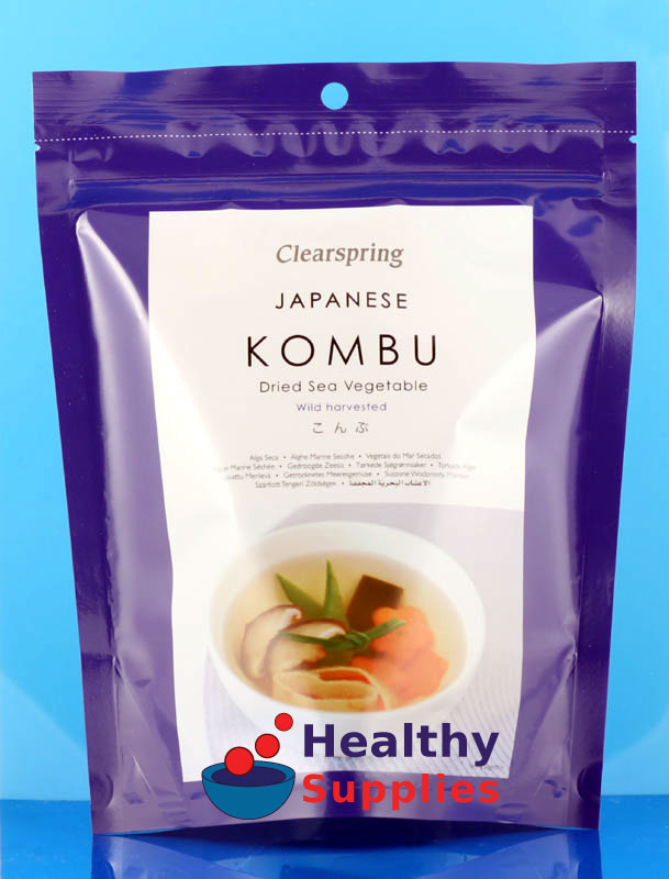 Kombu Seaweed - HealthySupplies.co.uk. Buy Online.