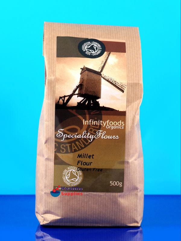 Organic Millet Flour 500g (Infinity Foods