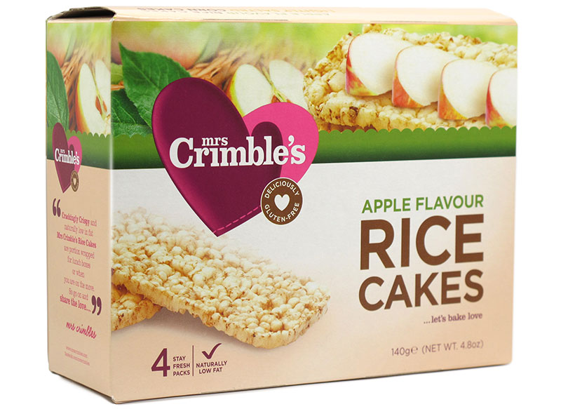 Rice Flour Cake Recipes Uk: Apple Rice Cakes, Gluten-Free 140g (Mrs Crimble's