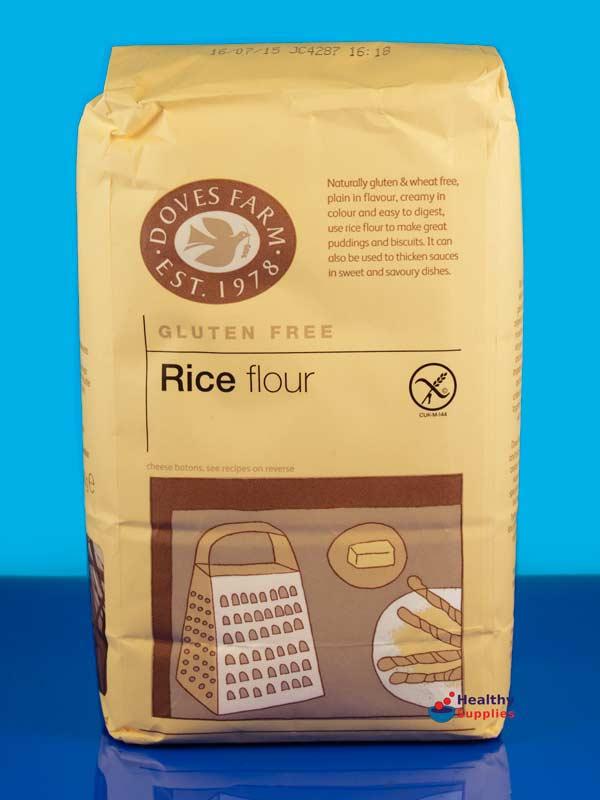 Rice Flour, Gluten Free 1kg (Doves Farm) - HealthySupplies