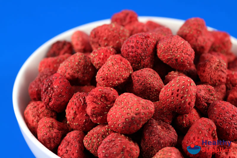 Freeze Drying Strawberries Freeze Dried Strawberries 100g