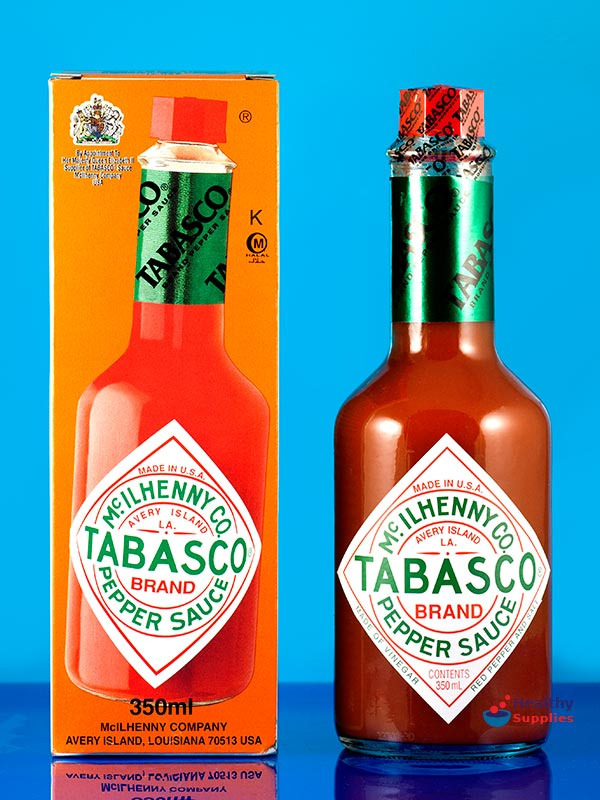 Tabasco Red Pepper Sauce 350ml (Mc.Ilhenny Co.) - HealthySupplies.co ...