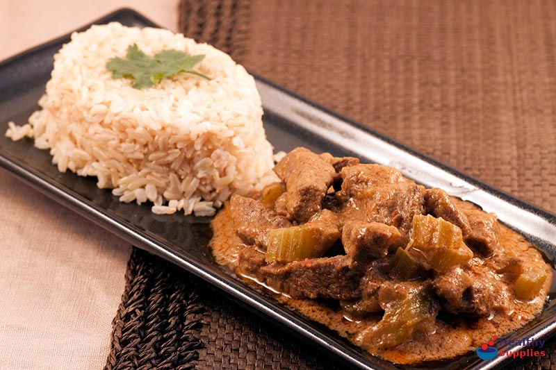Thai Red Beef Curry - Recipe - HealthySupplies.co.uk. Buy Online.