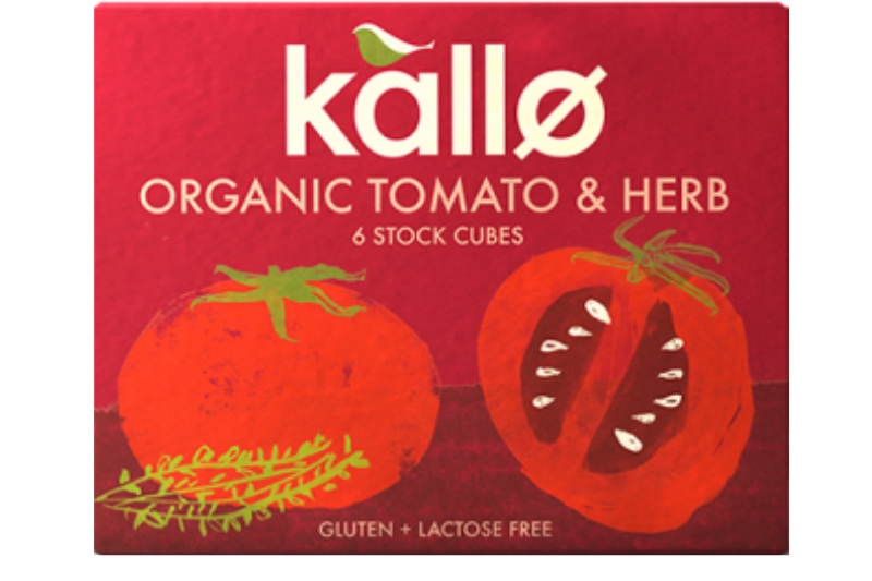 Tomato & Herb Stock Cubes 66g (Kallo) - HealthySupplies co
